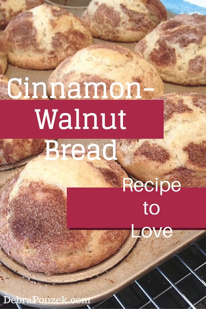 Walnut-Cinnamon Quick Bread
