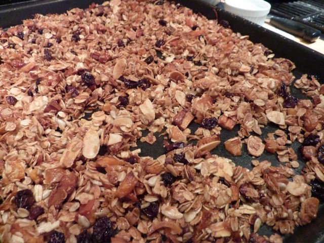 Homemade Crunchy Granola Recipe