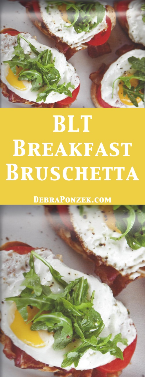 There are so many different ways to eat breakfast with so many different options. However, if you're looking for possibly the best breakfast recipe, look no further than a classic with a twist, bacon and eggs bruschetta.