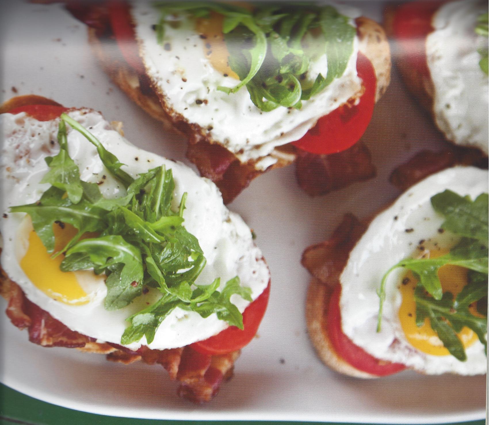 BLT Breakfast Bruschetta by Debra Ponzek
