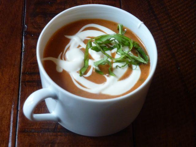 Easy No Cook Tomato Soup Recipe