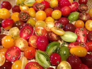 tomato crostini recipe after roasting