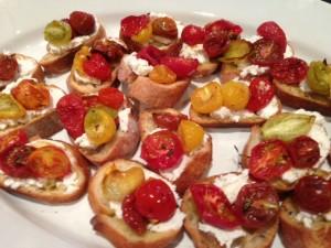 Tasty Tomato Crostini Recipe