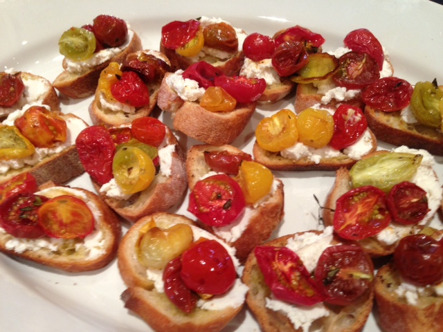 Tasty Tomato Crostini Recipe