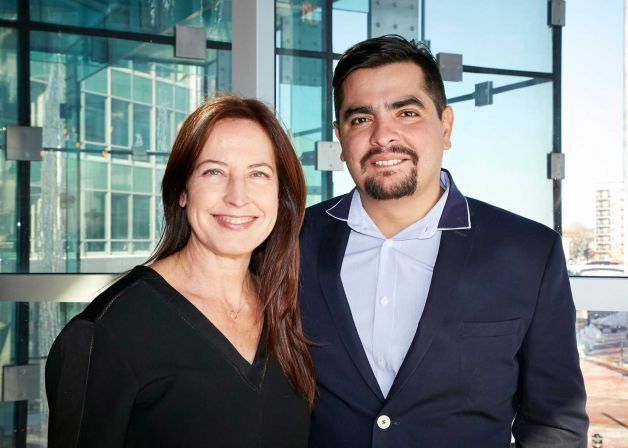 Debra Ponzek and Aaron Sanchez - Great Chefs Event