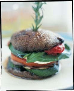 Portebello Mushroom Stack From Aux Delices