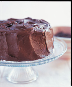 Chocolate Home Style Cake From Aux Delices