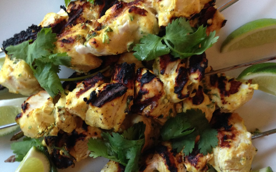 Make Ahead Meal: Chicken Kebabs on the Grill