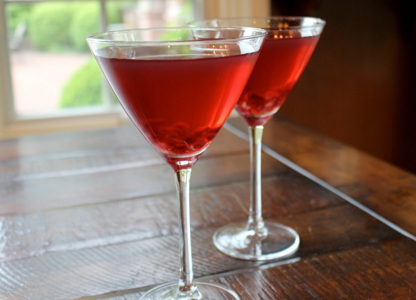 Aux Delices Foods' Pomegranate Margarita