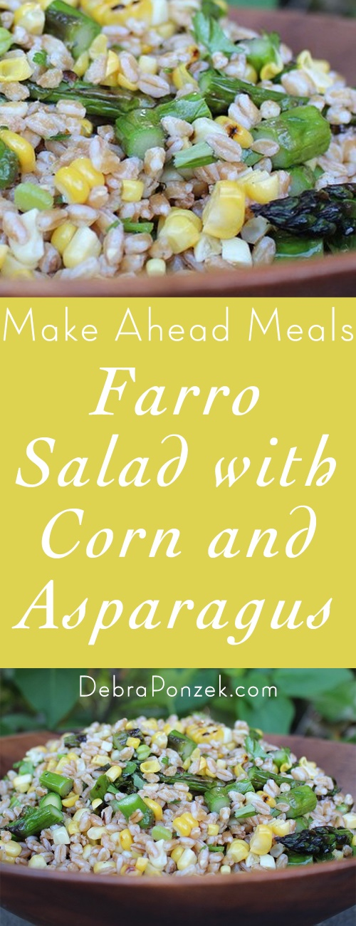 When I made this on the Today Show, I explained how it's a great stand-in for the ubiquitous pasta salad. But it's so much more! Farro is a slow-burning carb and as such is super good for you. Even better, it's satisfying to eat, with a seductive bite and a mild nuttiness that marries with just about any vegetable, fruit, and/or nut mixture you can think of.