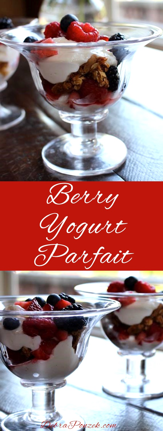 Having a light, healthy breakfast is simple when you choose a berry yogurt parfait. The best part is, this is a simple recipe that anyone can do.