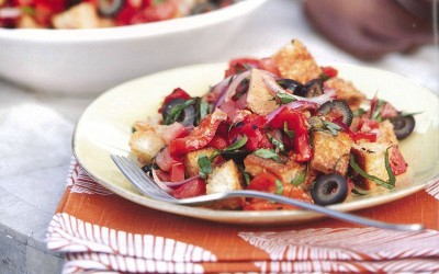 Make Ahead Recipe: Summertime Bread Salad to Savor