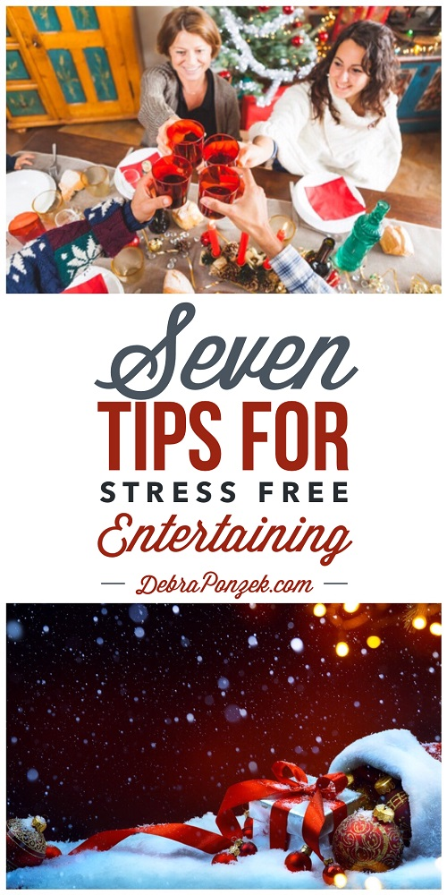 7 Tips for Stress Free Entertaining