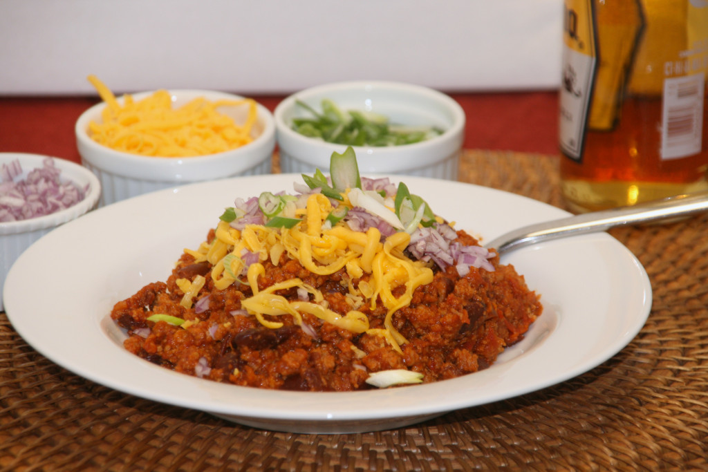 Turkey Chili Plated