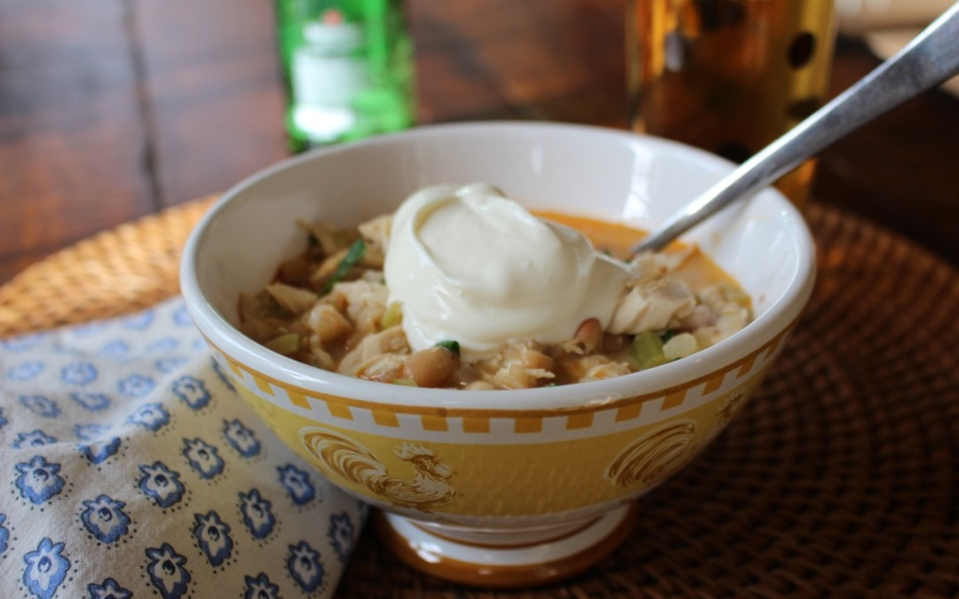 Tex-Mex Chicken Chili Recipe