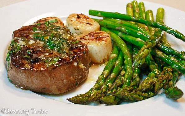 Ideas For Valentine's Day Steak Scallops