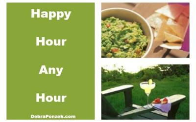 Happy Hour Recipes – Margaritas and Guacamole