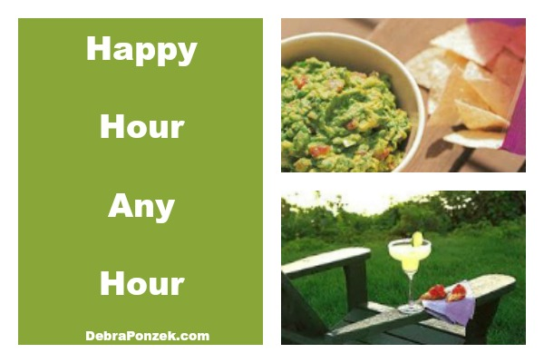 Happy Hour Recipes – Margaritas and Guacamole