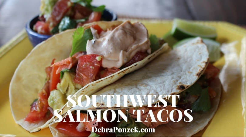 Southwest Salmon Taco Recipe