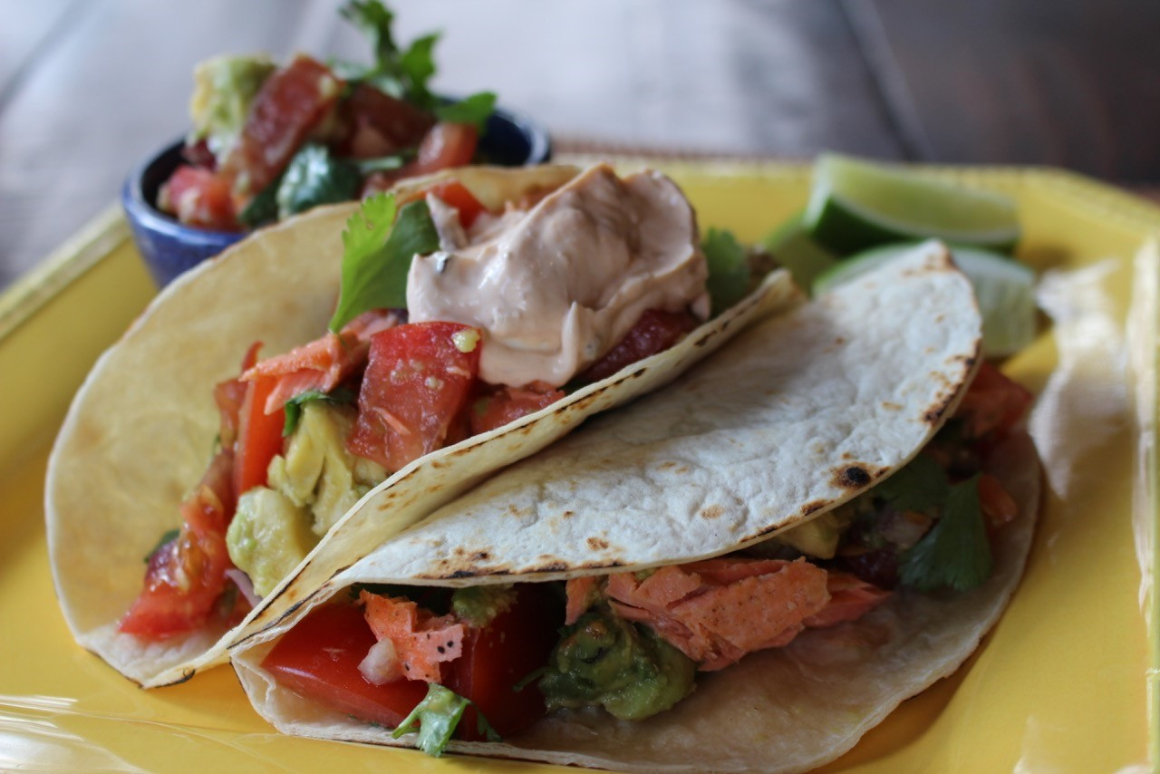 Salmon Taco Recipe by Debra Ponzek