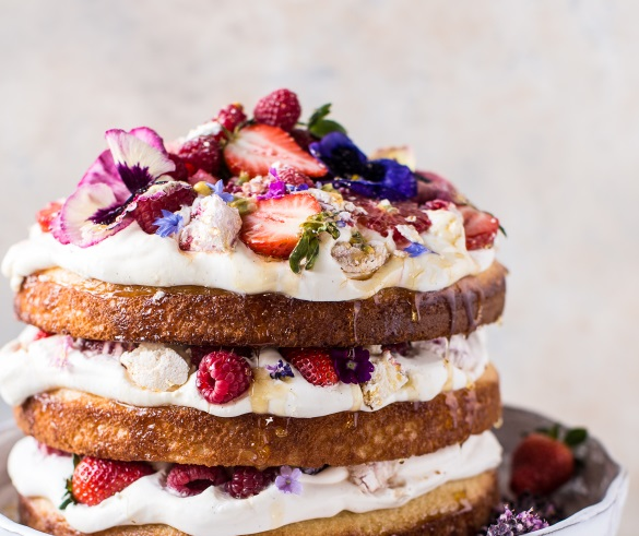 Coconut Eton Cake Mothers Day Meals