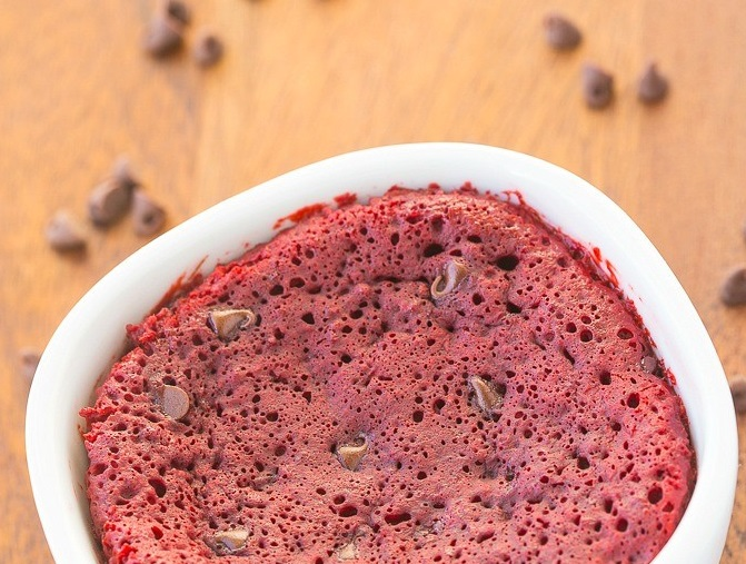 Red Velvet Mug Cake Mothers Day Meals