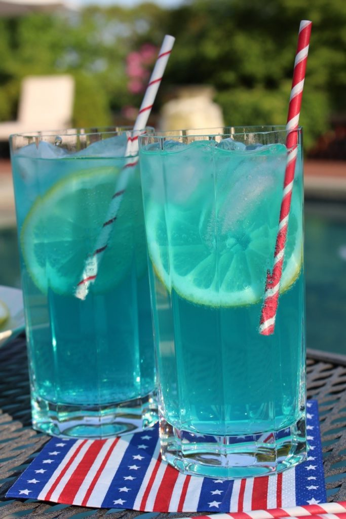 Electric Blue Lemonade Backyard Party Recipes