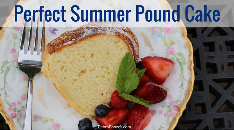 Summer Pound Cake Recipe