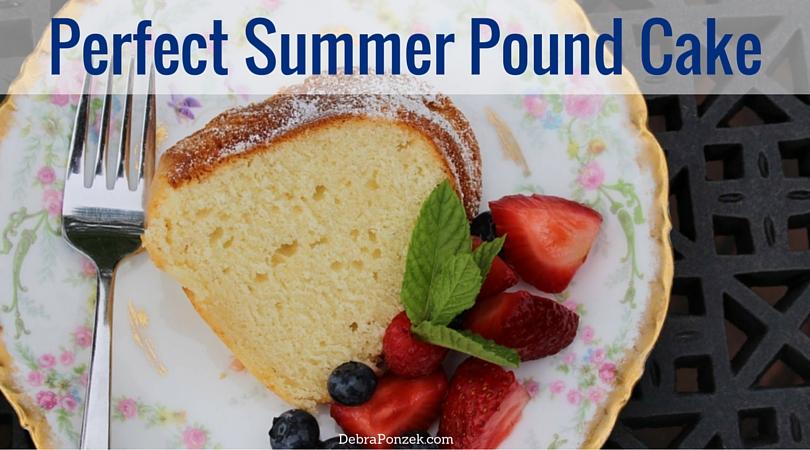 Summer Pound Cake Recipe