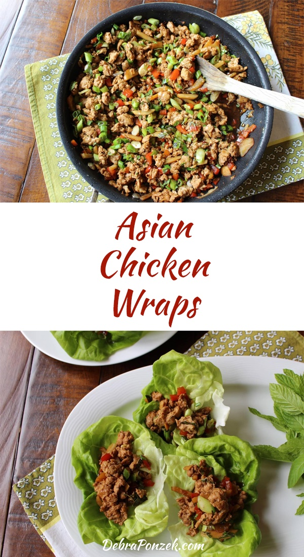 When it comes to finding a good make-ahead meal, lettuce wraps are a good idea and Asian chicken lettuce wraps are even better.