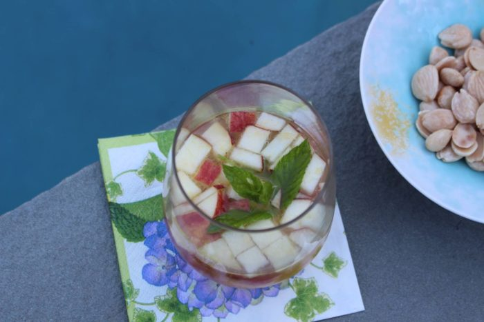 Cava Sangria With Fruit