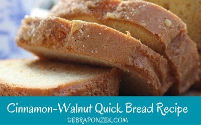 Cinnamon Walnut Bread Recipe