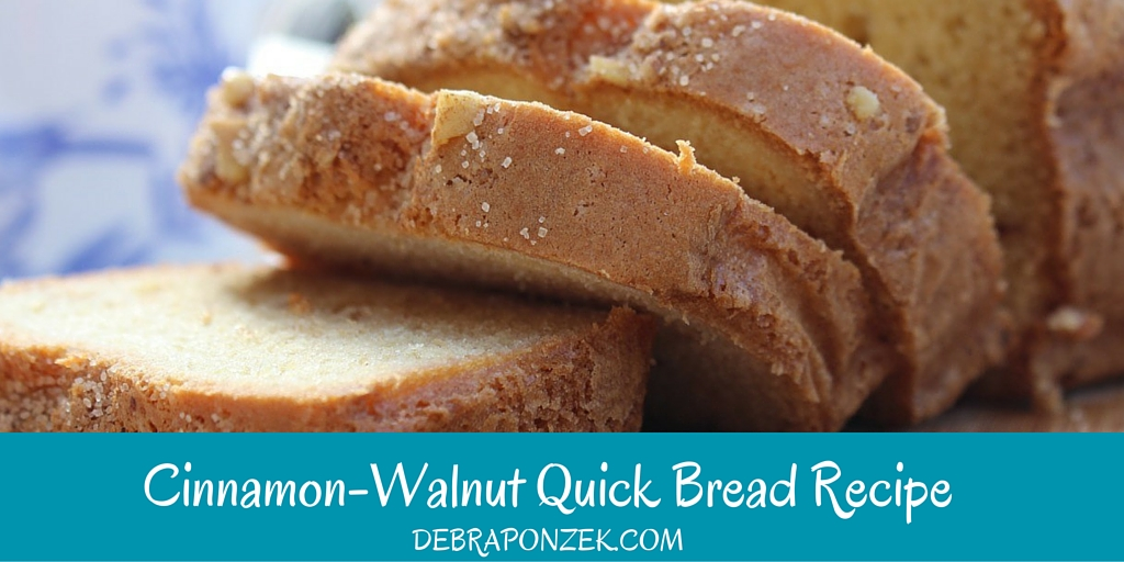 Cinnamon Walnut Bread Recipe
