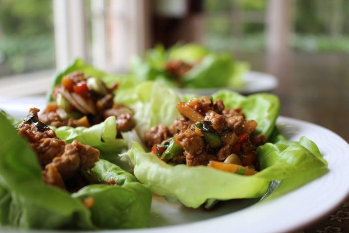 Make Ahead Meals Asian Chicken Lettuce Wraps