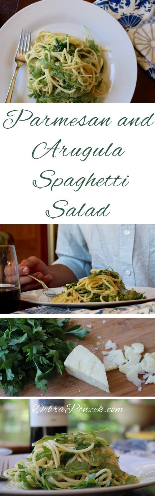 Adding the best spaghetti with arugula and Parmesan recipe makes for a quick and easy dish that can be done at the drop of a hat.