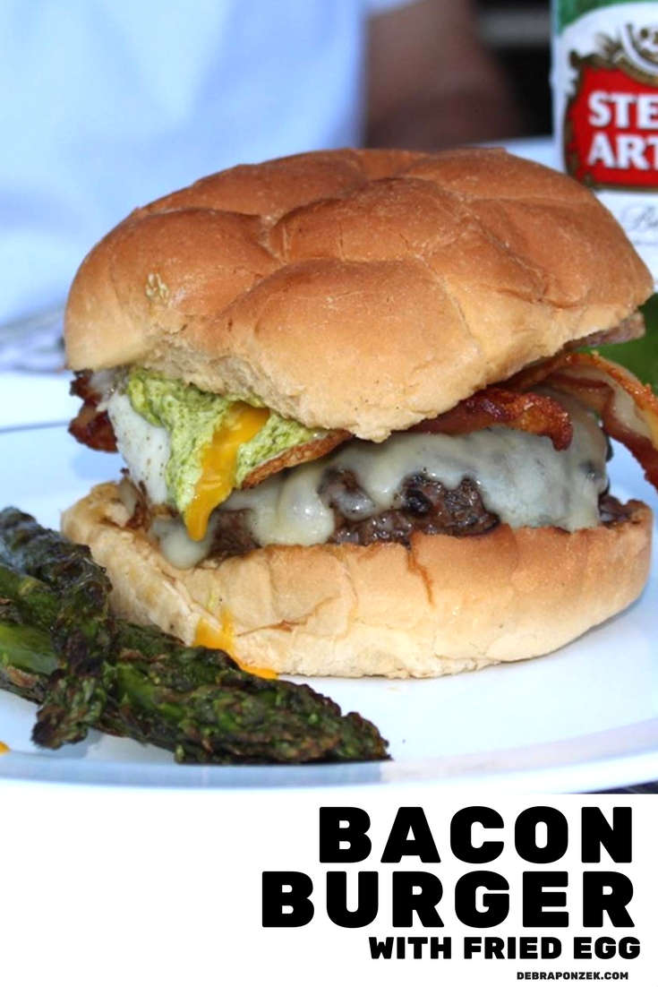 When you find a bacon egg burger that works for brunch, lunch, and dinner you've found a treasure that must be saved for generations.
