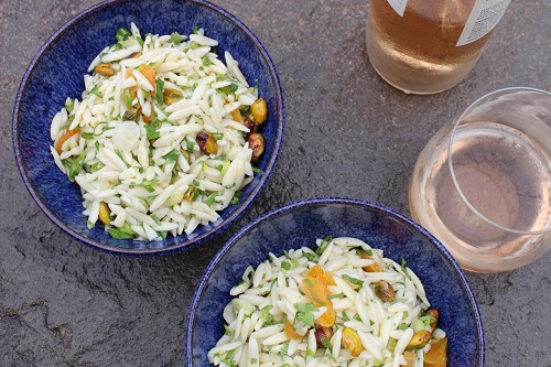 Aux Delices Orzo Salad Easy Recipe