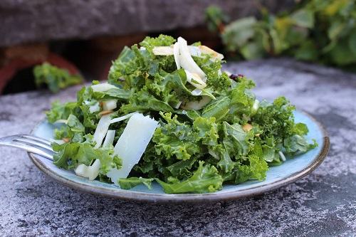 Best Kale Salad Recipe Parmesan