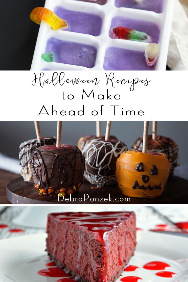 Throwing the perfect Halloween party means finding the best recipes to make ahead of time and spend time during the party to actually party.