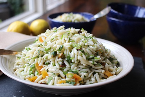 How To Make Aux Delices Orzo Salad