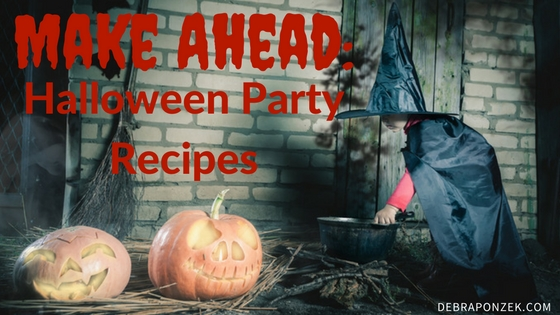 Halloween Recipes To Make Ahead of Time