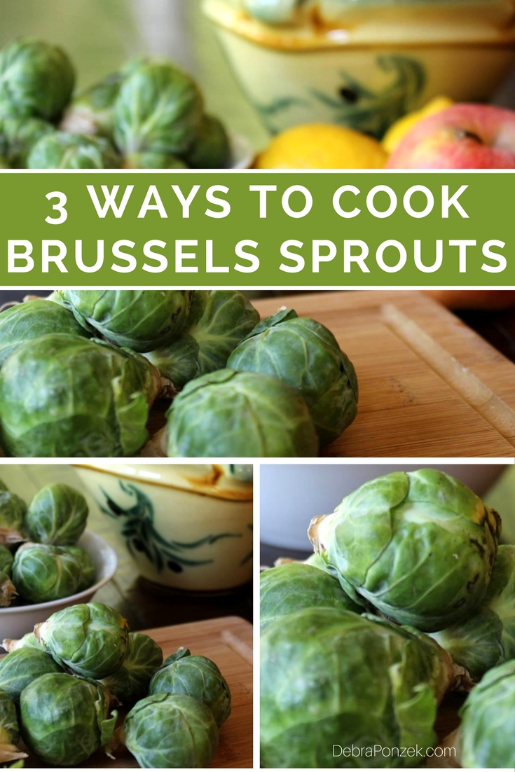 There are many ways to cook brussels sprouts but only a few of them are easy to master and bring out the flavors in fantastic ways.