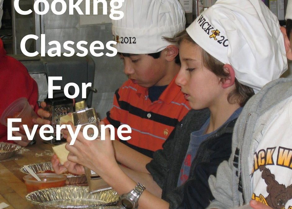 Aux Delices Foods Cooking Classes For November and December 2016