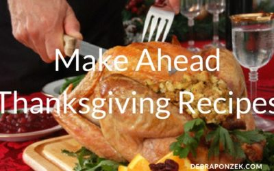 Make Ahead Thanksgiving Recipes
