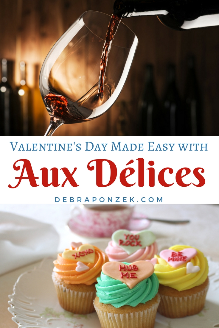 Valentines Day can be even easier for you if you give us a call at Aux Délices Foods and let us make you the perfect dinner for two.