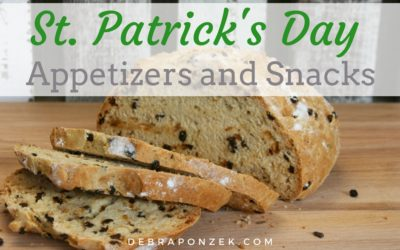 St. Patrick's Day Appetizers and Bite Sized Snacks