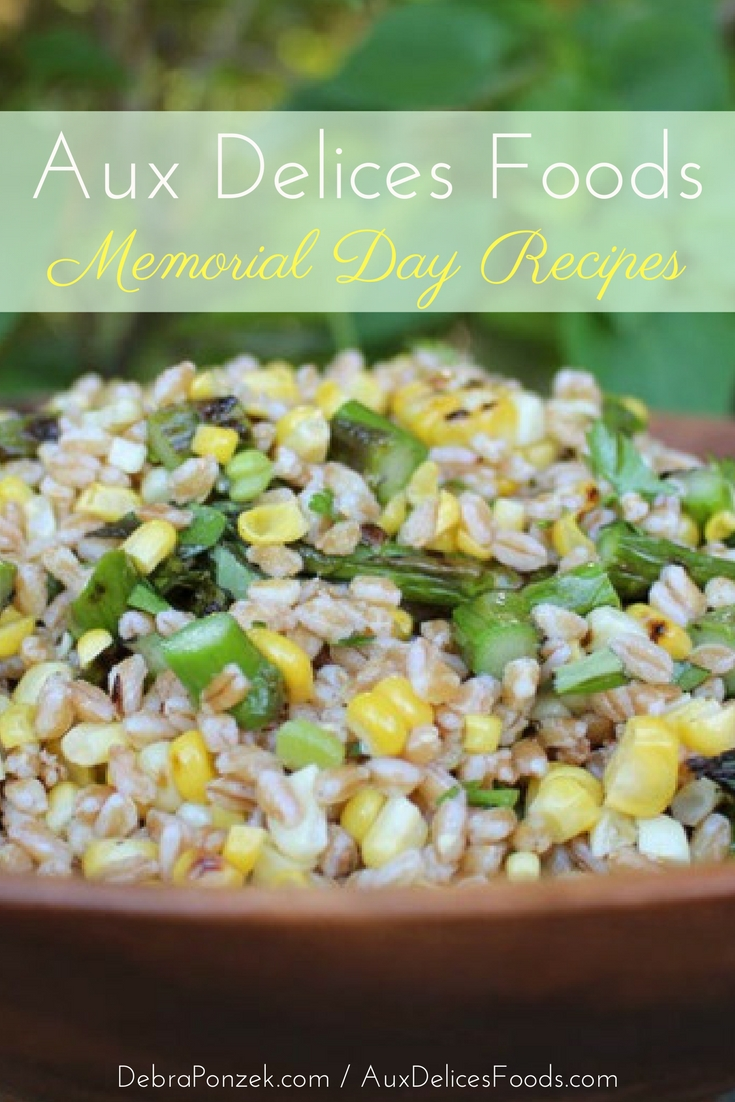 Celebrate Memorial Day with some of the best Memorial Day recipes from Aux Delices Foods and throw the perfect barbecue to kick off your summer.