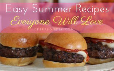 Summer Food Ideas for Dinner