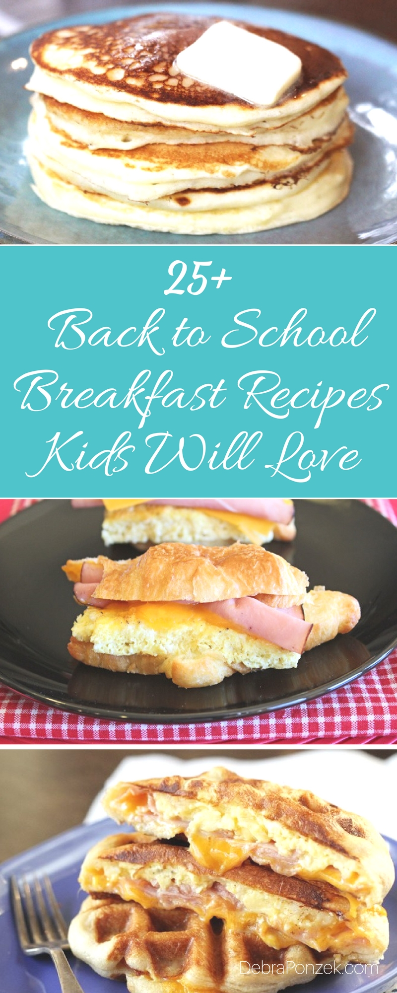 Start your day with a back to school breakfast that is worthy of your time and taste buds every day of the school week and on the weekends too.