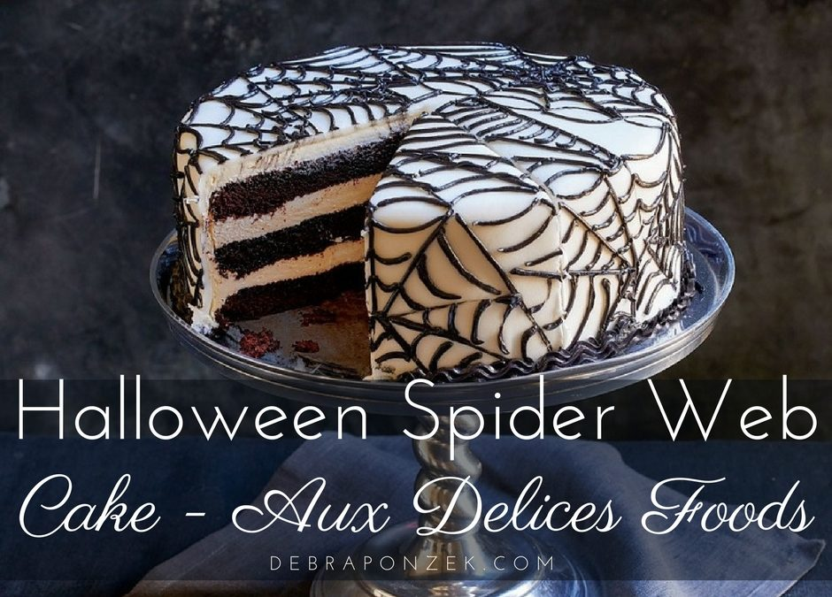 Dean and Deluca Halloween Spider Web Cake